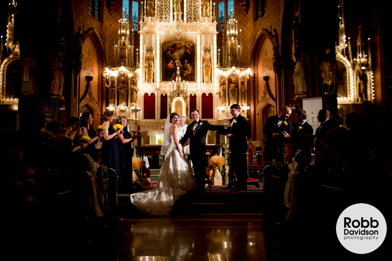 Holy Family Chicago wedding